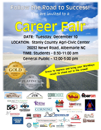 Career Fair Tuesday, December 10th!! Featured Photo