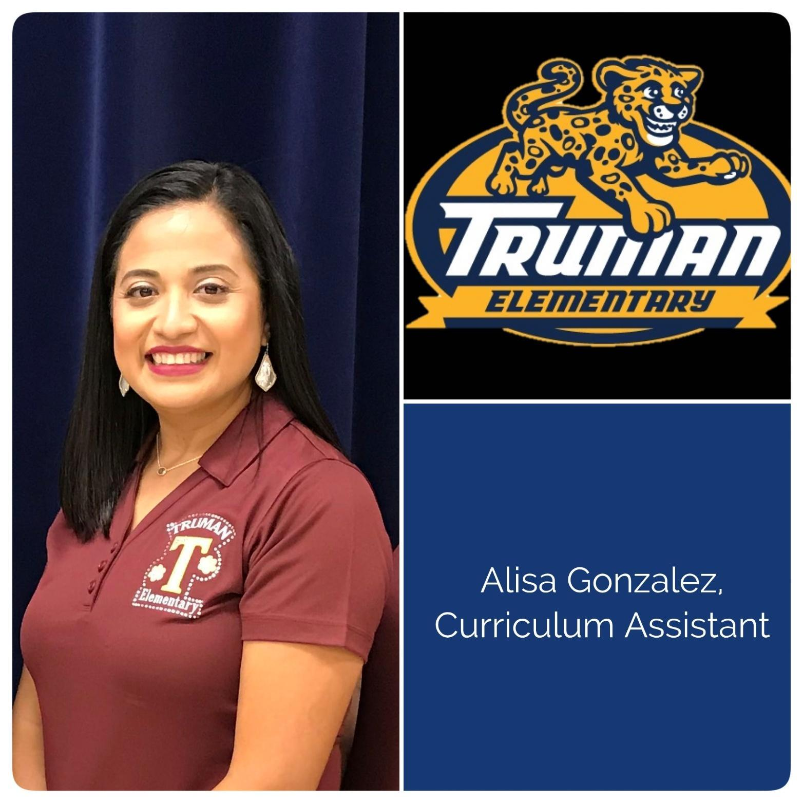 Curriculum Assistant, Alisa Gonzalez