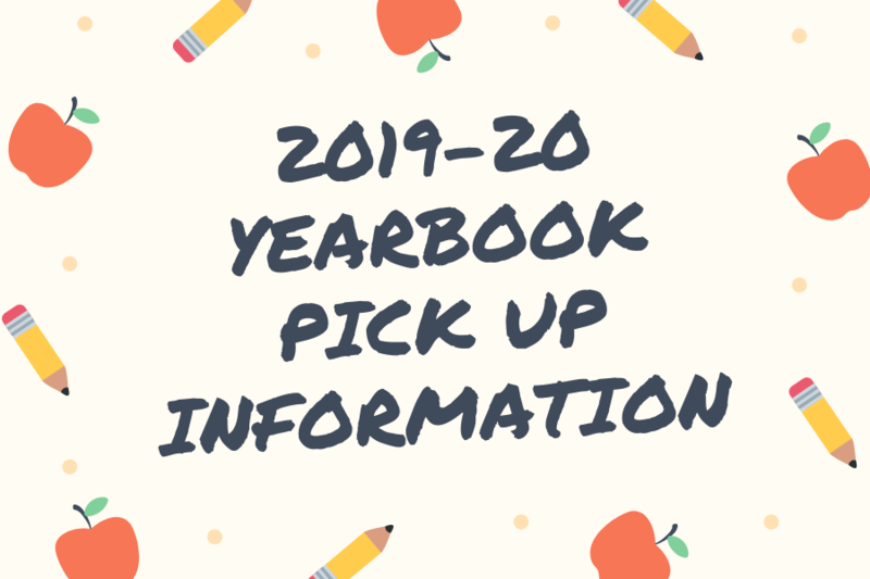 Yearbook pick up information