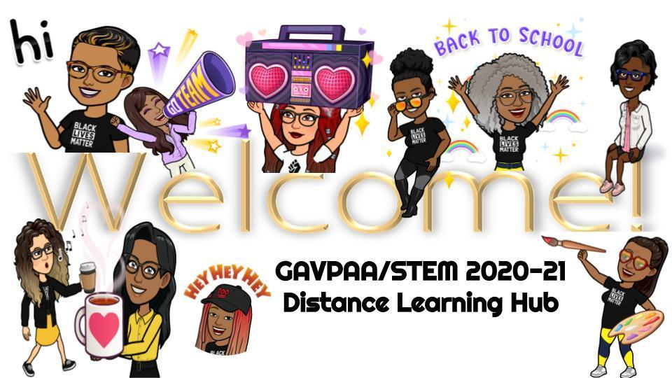 Distance Learning Welcome