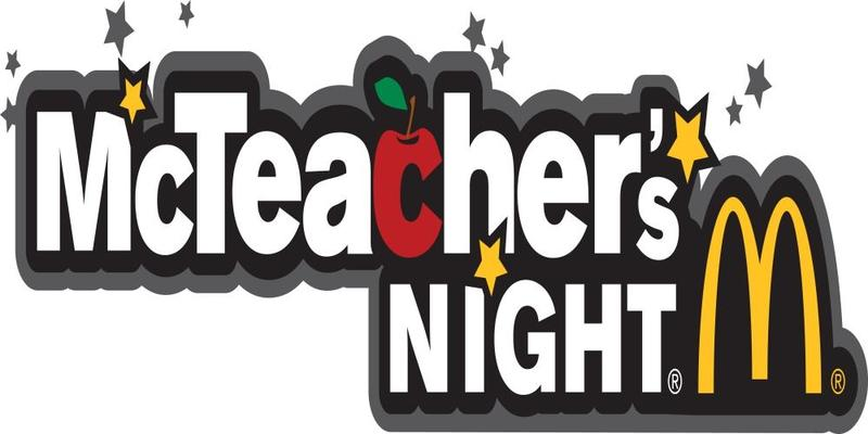 Save the Date!  McTeacher Night is coming on Wednesday, Oct. 6th Featured Photo