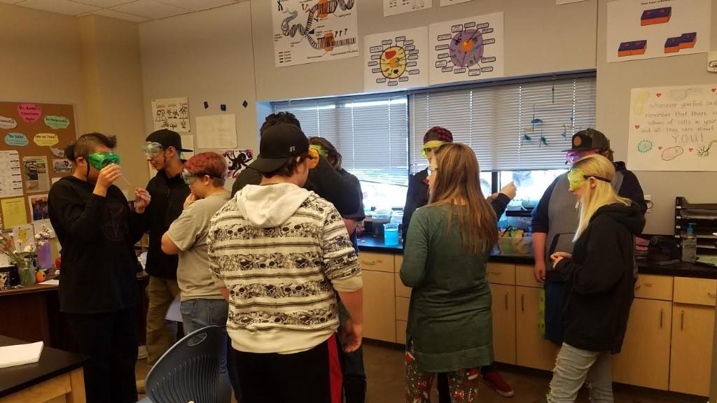 Ms. Barker's Science Class