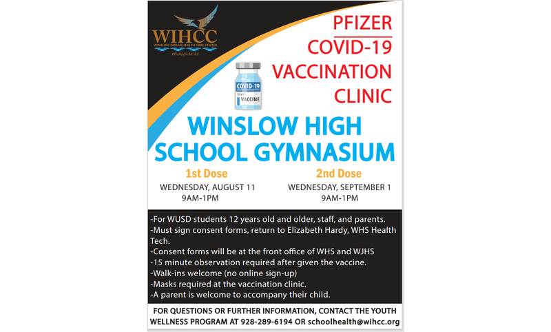 COVID Vaccine Clinic - Wednesday, August 11, 2021 Featured Photo