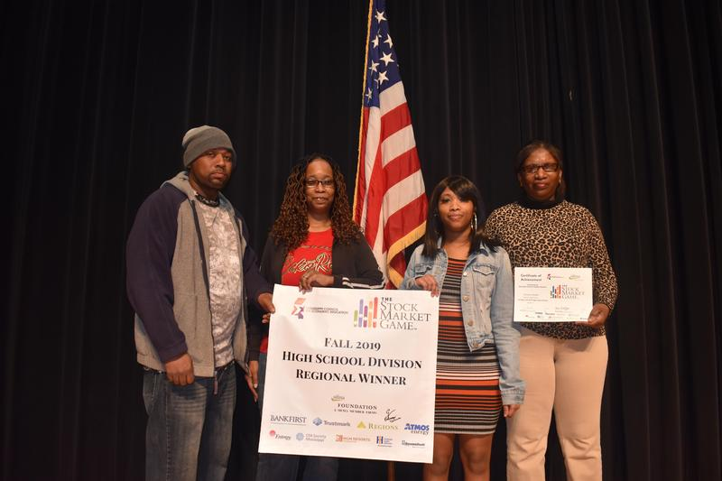 Five McComb High School Scholars participated in and were regional winners of