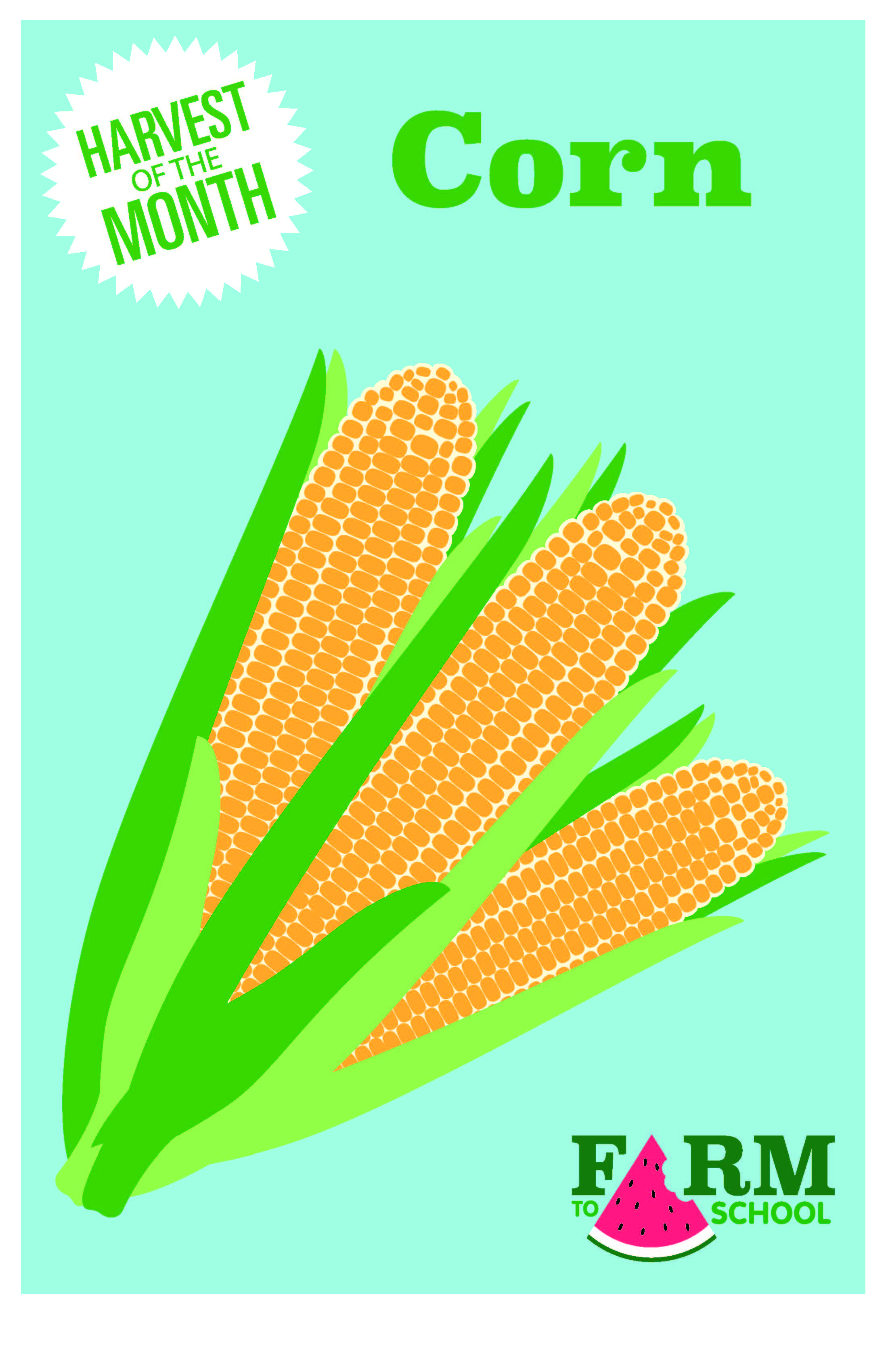 Food of the Month is Corn