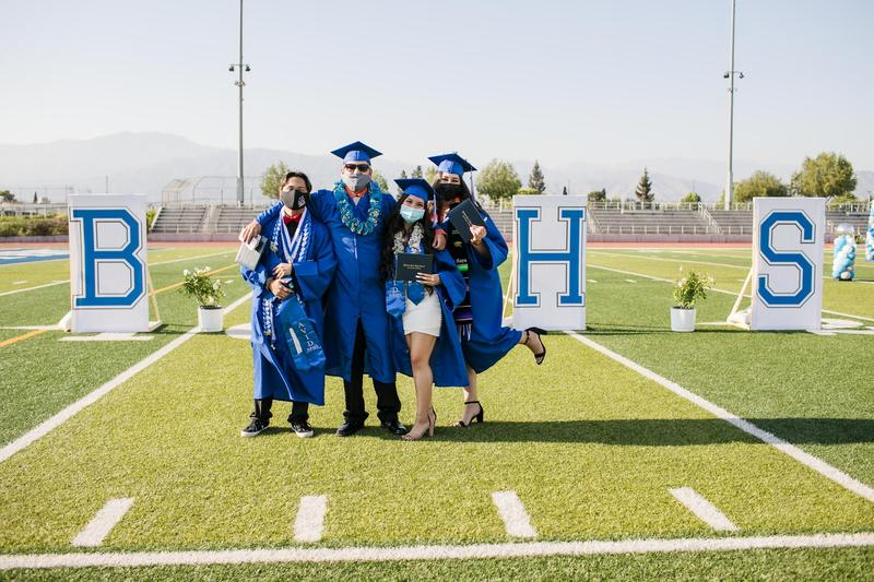 Baldwin Park High School honored graduates with in-person commencement ceremonies on June 2 and 3.