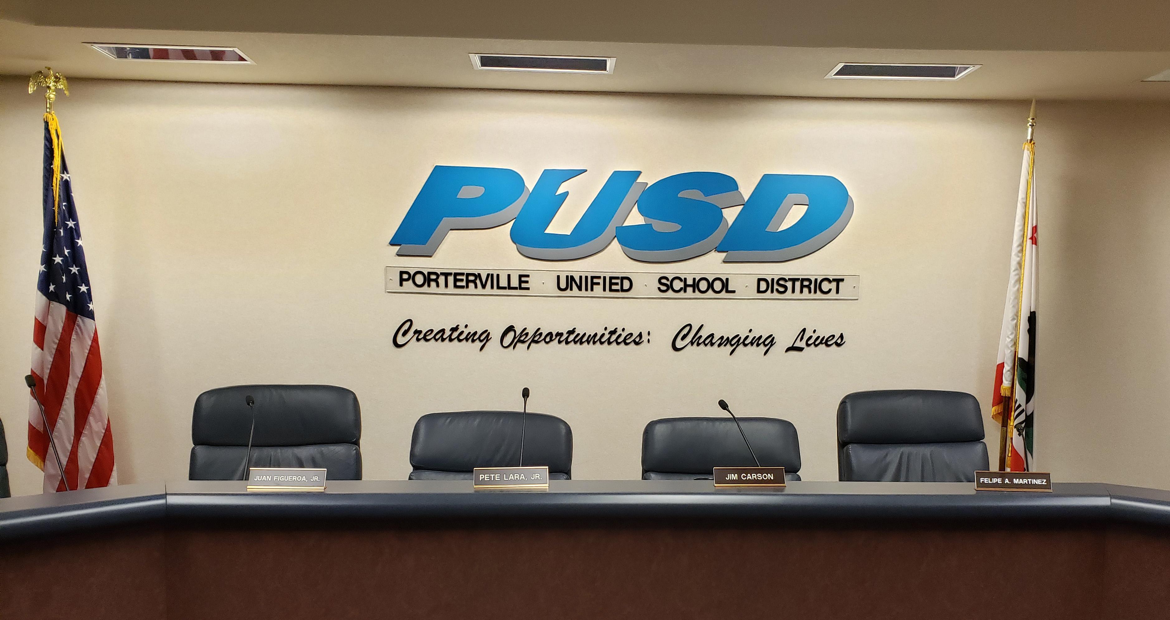 PUSD Board Room