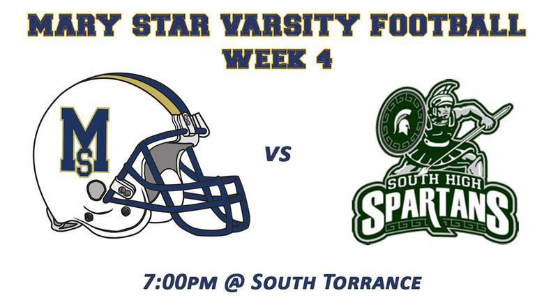 Week 4: MSHS @ South Torrance Featured Photo