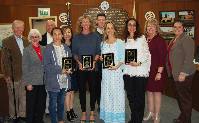 ESUSD Names 2017-2018 Educators of the Year Featured Photo