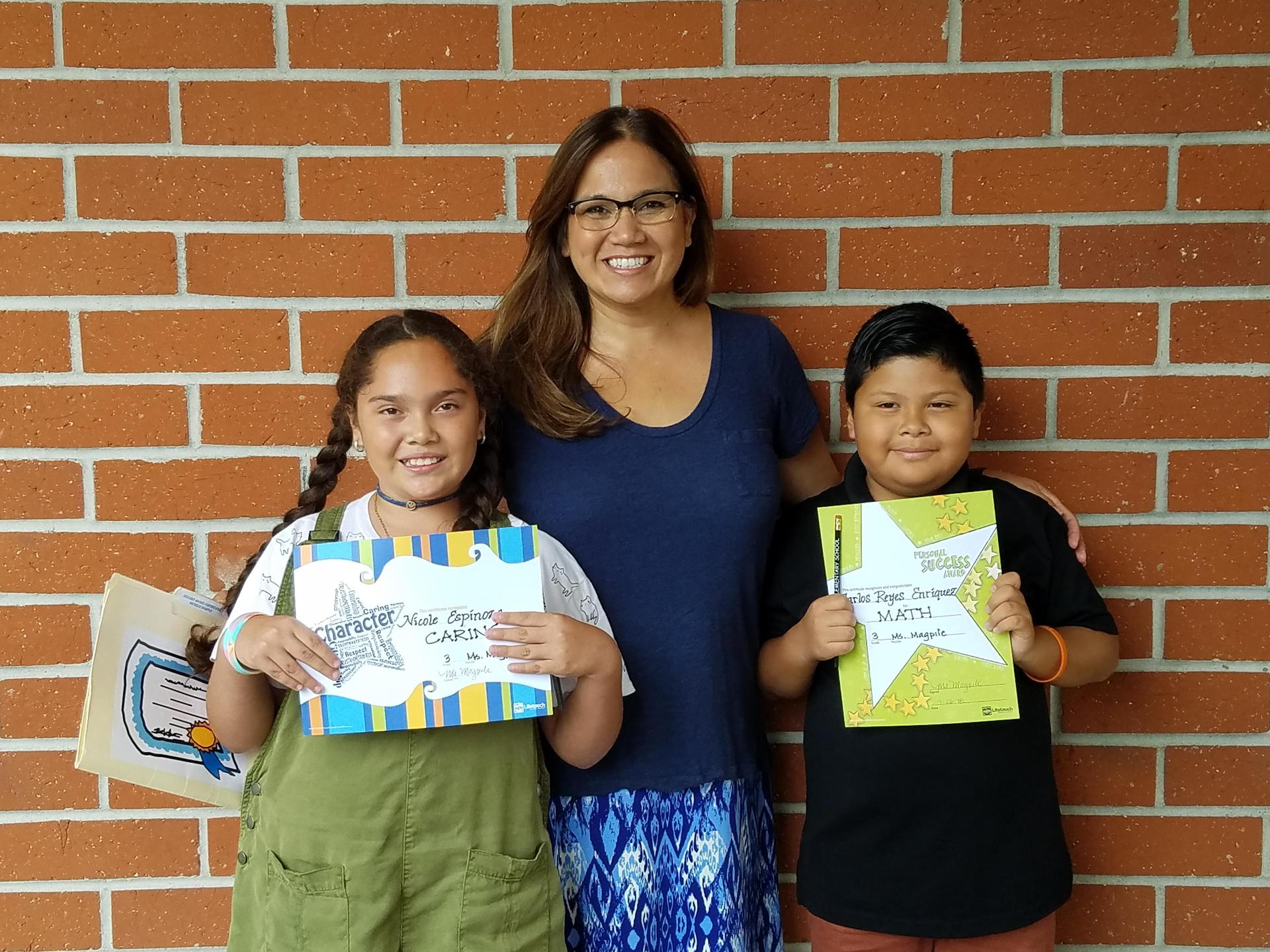 Ms. Magpile's Winners