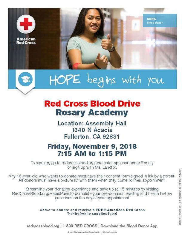 Red Cross Blood Drive Scheduled Featured Photo
