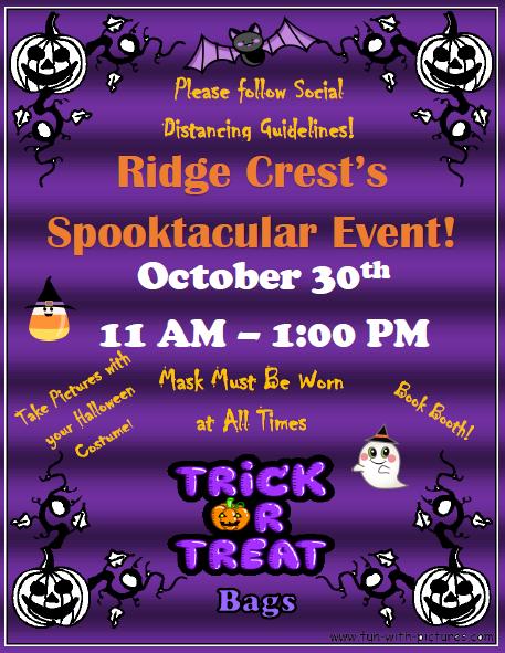 Ridge Crest's Spooktacular Event