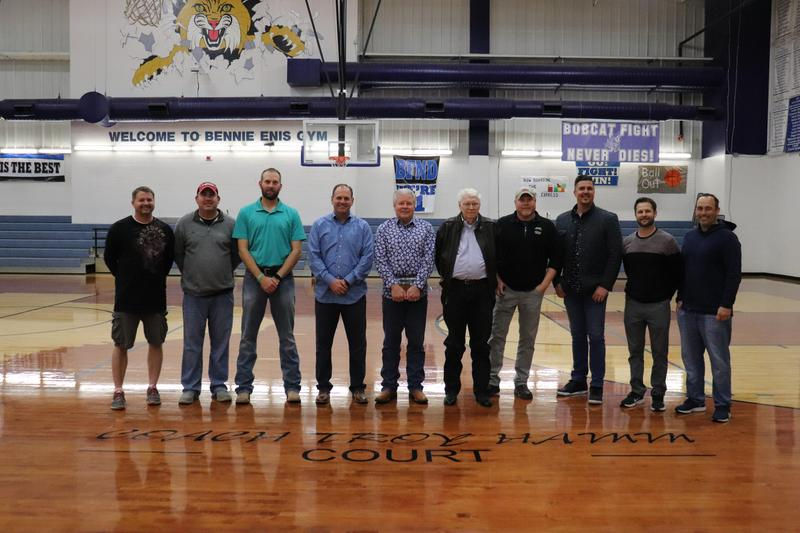Unveiling of the Coach Troy Hamm Court Featured Photo