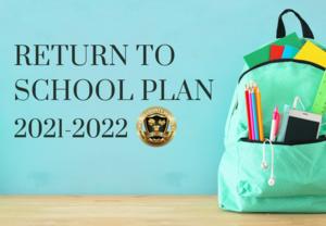 Return to School Plan 2021-2022