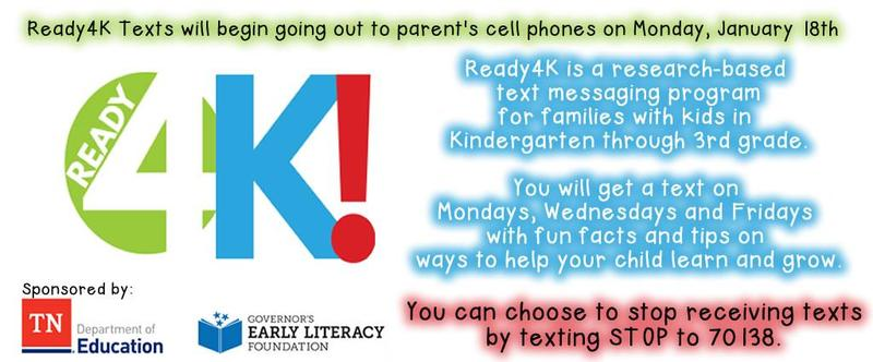 Ready4K Texts to Start on Monday, January 18th Thumbnail Image