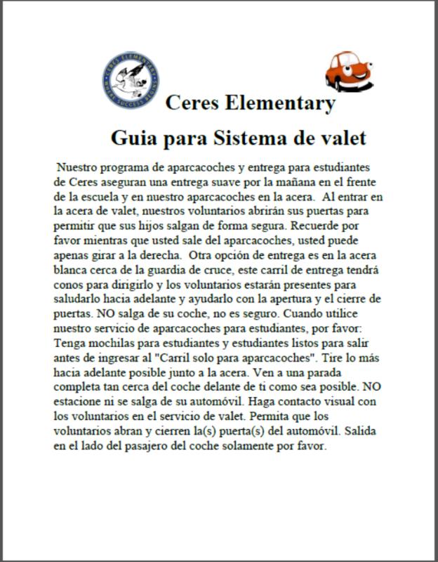 Spanish Valet