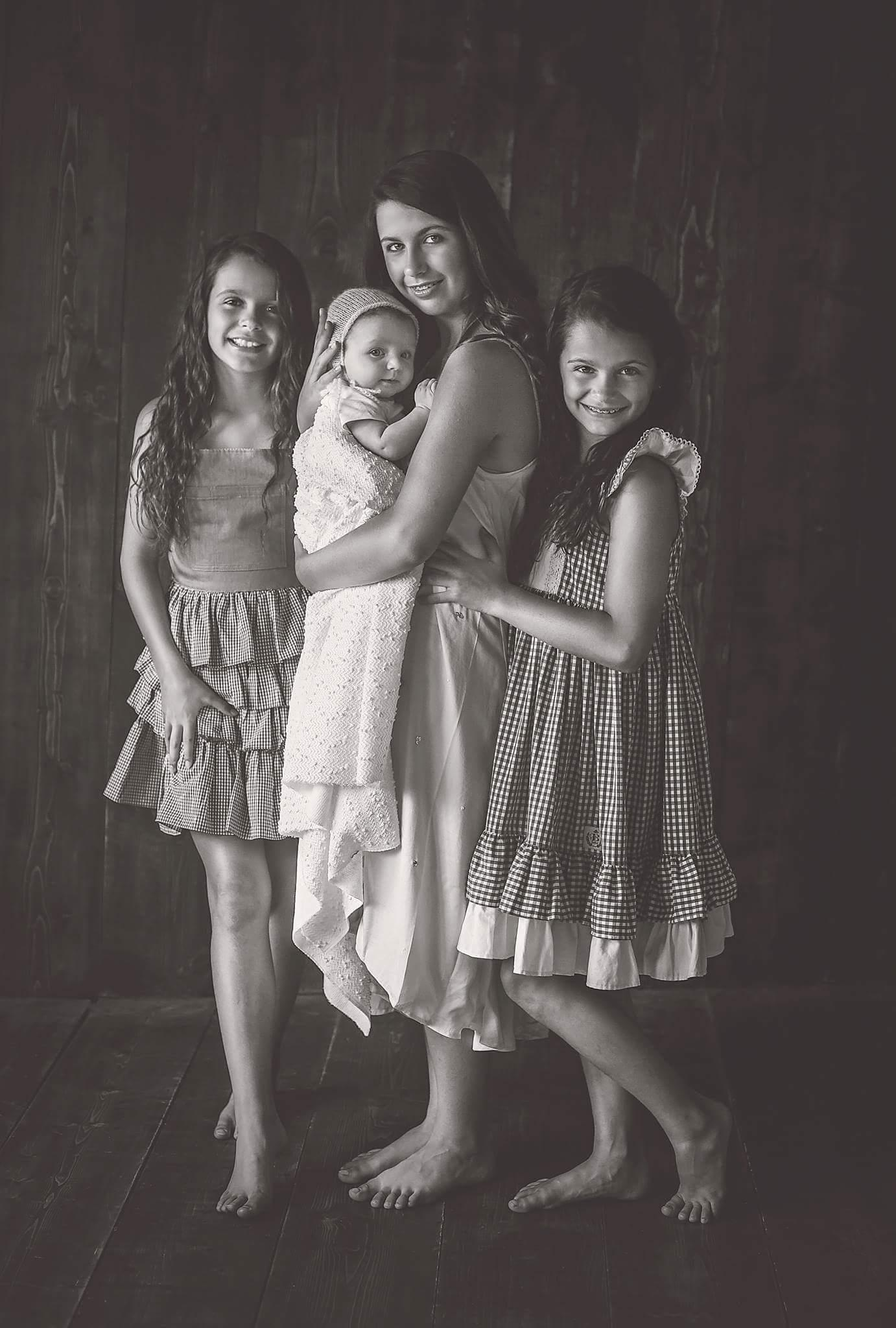 My daughters - Ava, Sophia, Natalie, and Arya