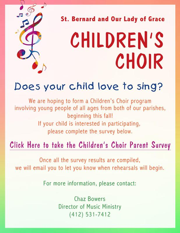OLG/STB Parishes Children's Choir Thumbnail Image