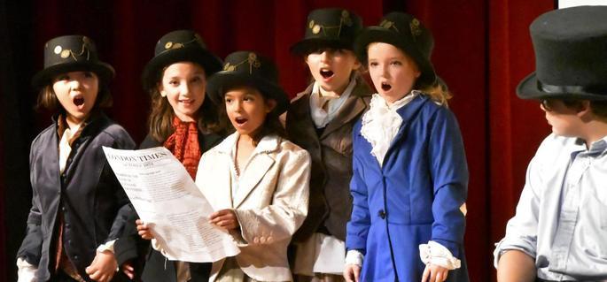 Singing in the School Play