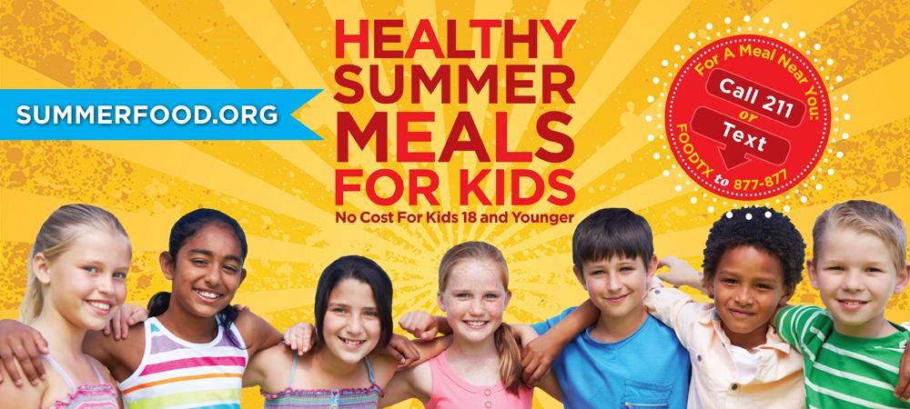 Banner for Summer Feeding program