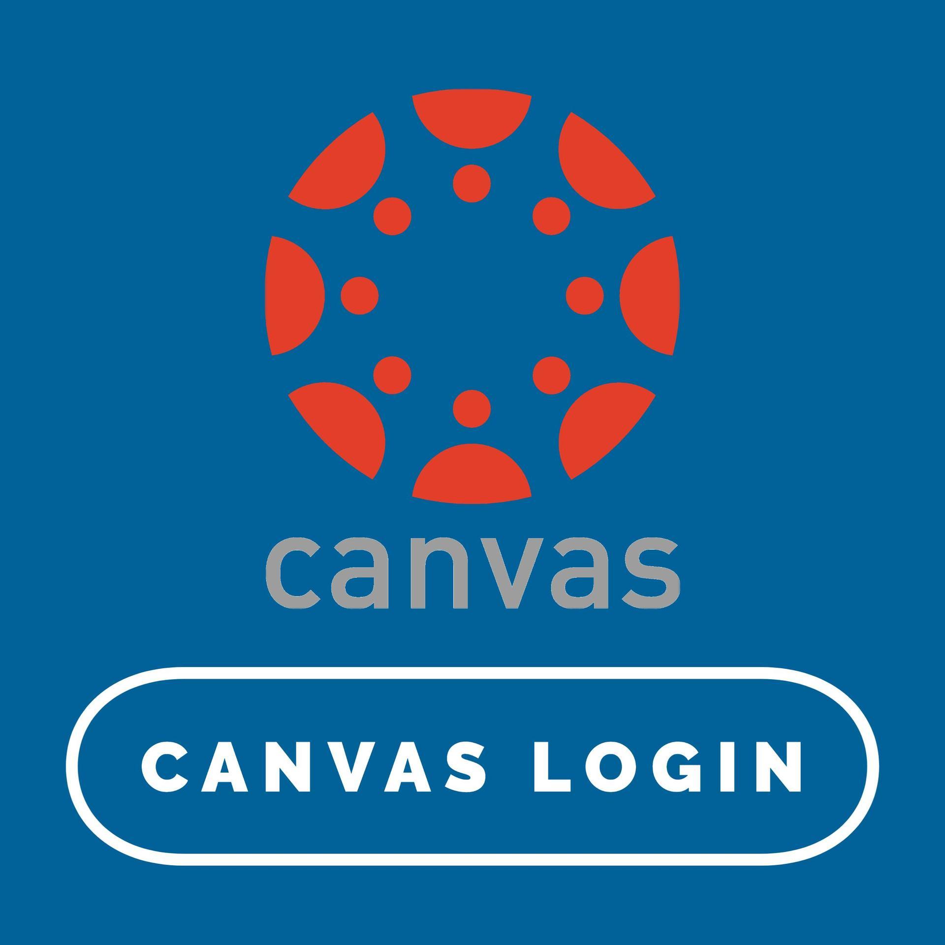 canvas login button