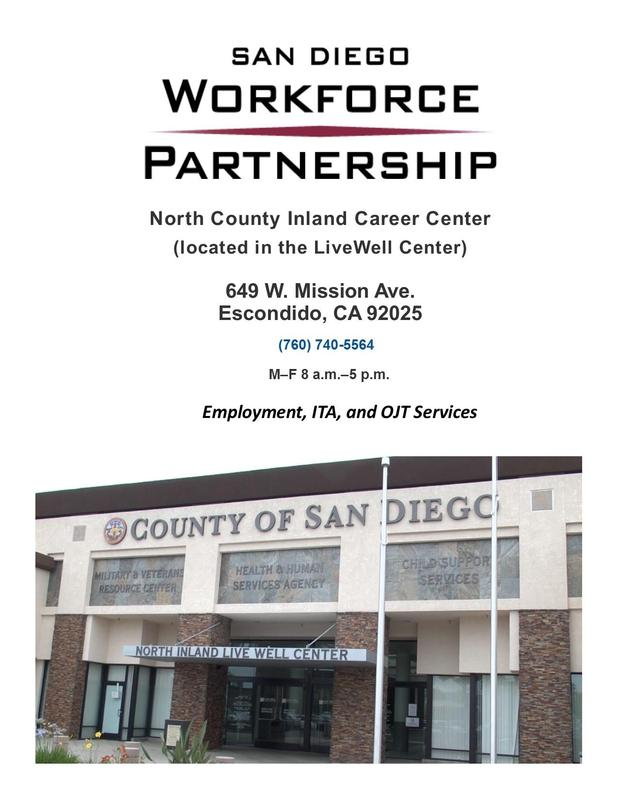 North County Inland Career Center Moves Featured Photo