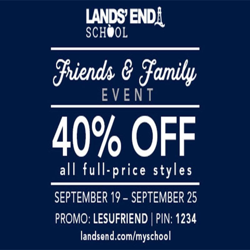 Lands' End Uniform Sale Thumbnail Image