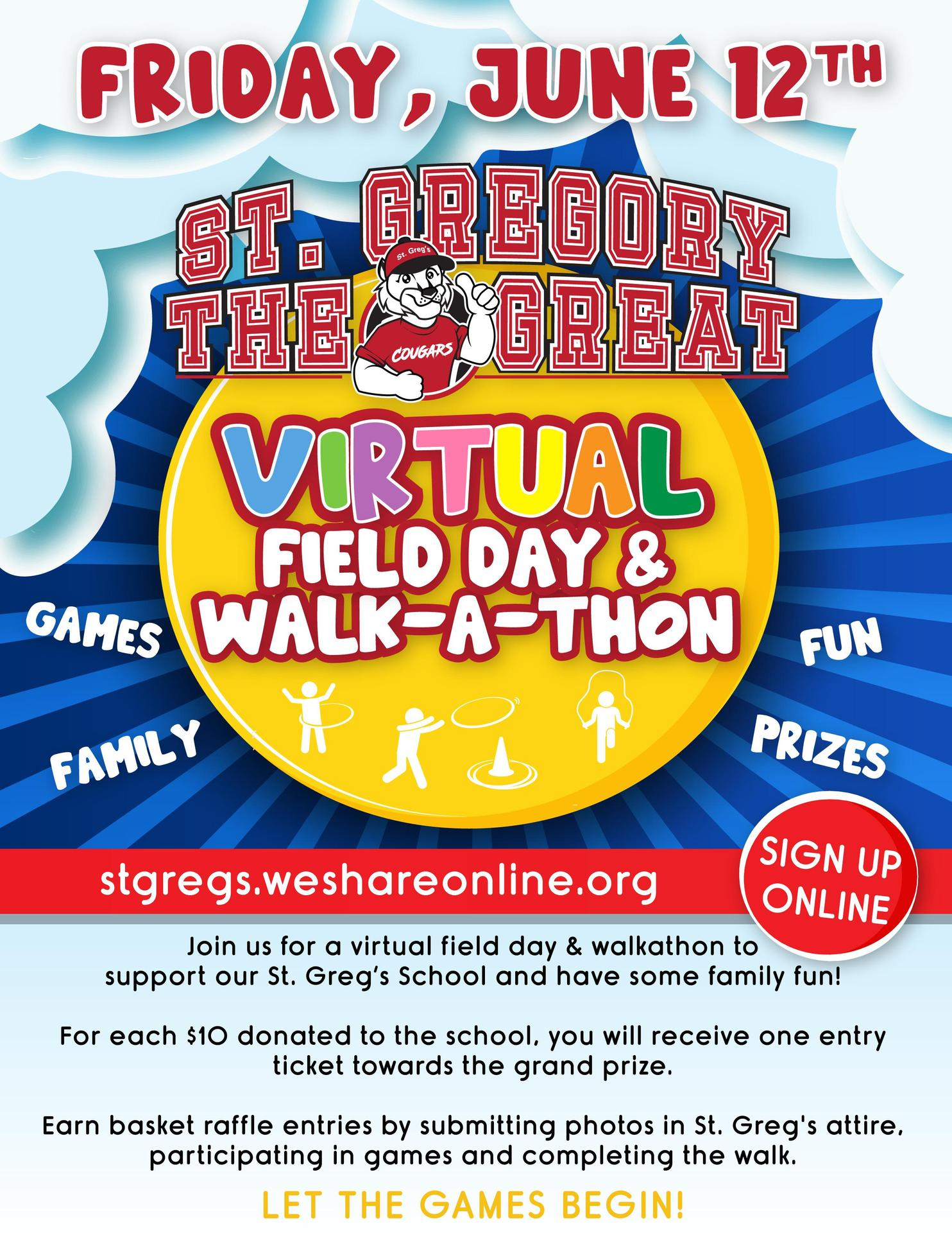 2020 Virtual Walk-a-thon
