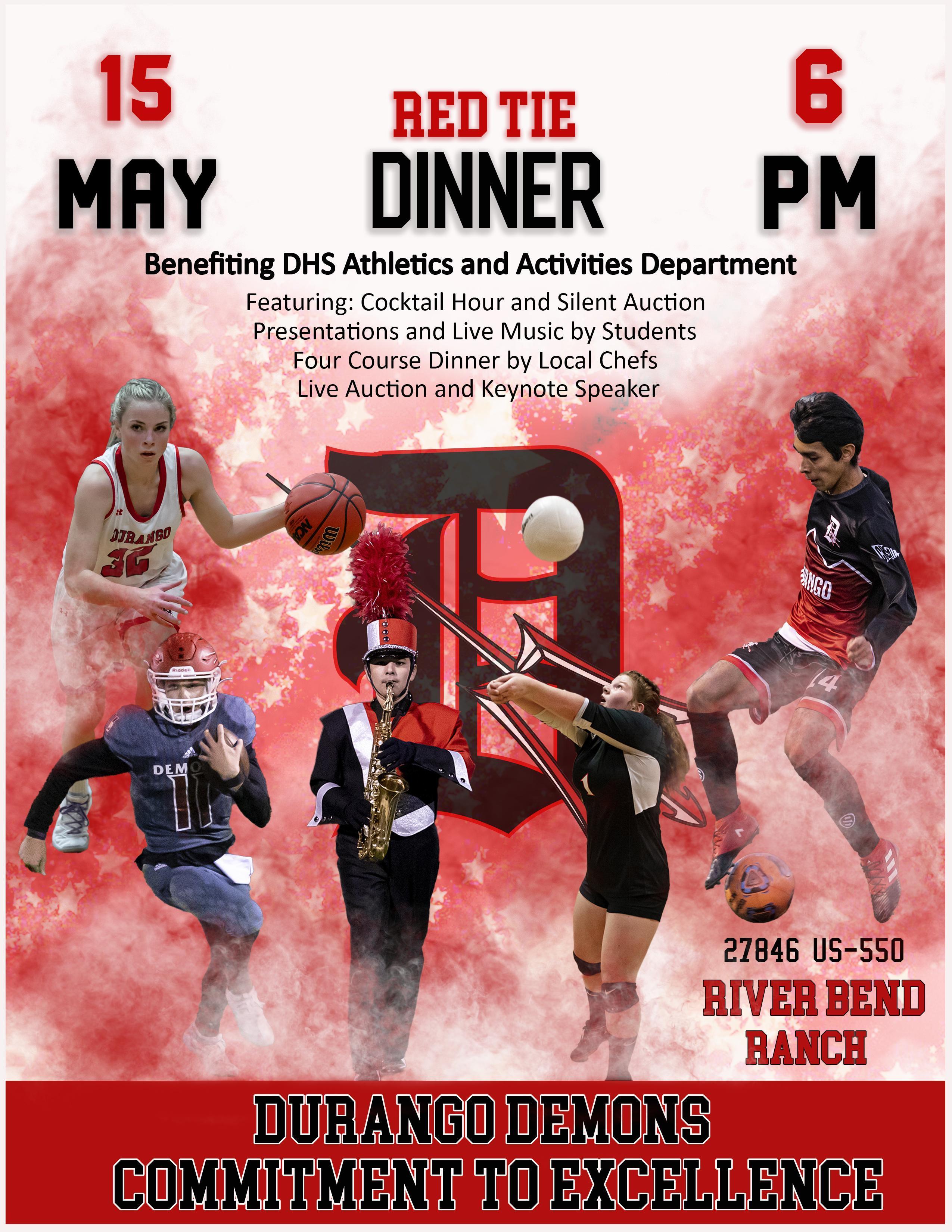 Red Tie Dinner