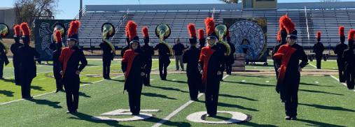 Tiger Band Moves on to Area Competition