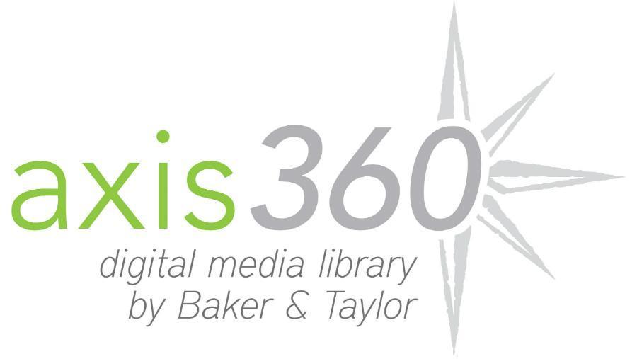 Axis360 digital media library logo