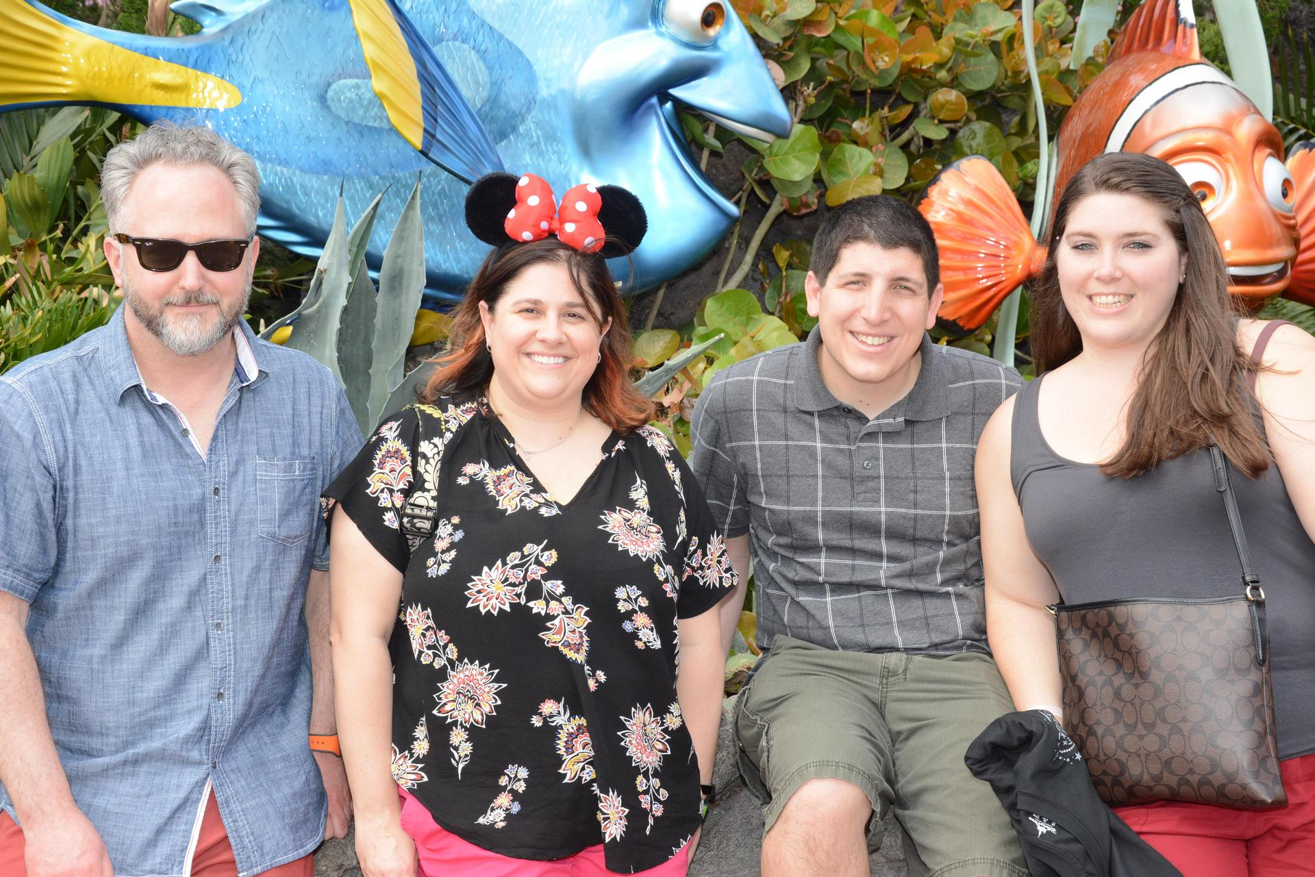 The Chaperones take a break with Nemo and friends!