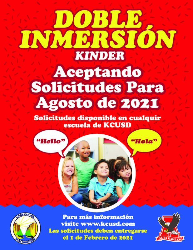 Dual Immersion Spanish Flyer