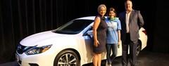 Brewer Middle School teacher Maddie Bartolowitz won a one-year lease for a 2017 Nissan Altima as part of Fort Worth Nissan's Perfect Attendance Car Giveaway. All employees qualified for a random drawing each month they earned perfect attendance.