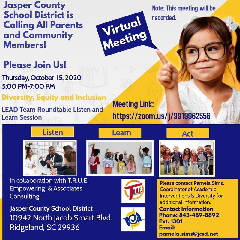 Diversity, Equity, & Inclusion Roundtable -10/15/20 - Diversidad, Equidad, e Inclusion Featured Photo