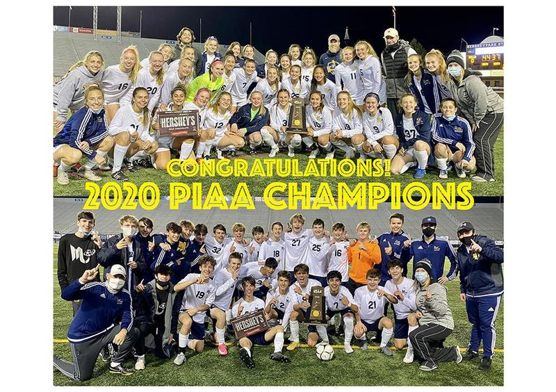 Mars Area High School Boys and Girls Soccer Teams Win PIAA Championships