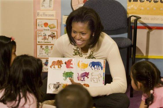 Storytelling with Michelle Obama
