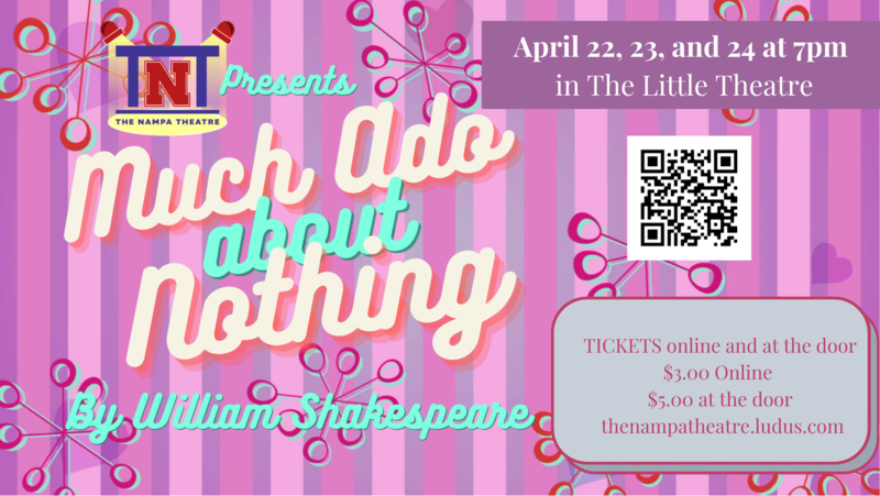 Much Ado About Nothing Flyer