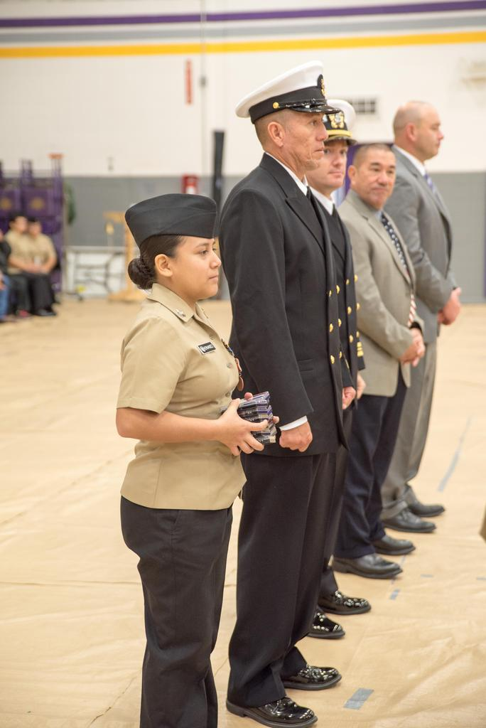 NJROTC Military Inspection
