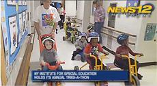 News12 Bronx::Kids with special needs take part in annual Trike-A-Thon