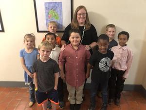 Brown Primary Pledge Leaders