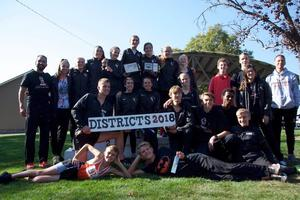 WVHS Cross Country teams
