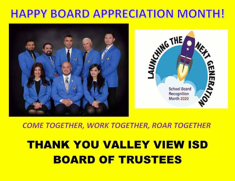 HAPPY BOARD APPRECIATION MONTH! Thumbnail Image
