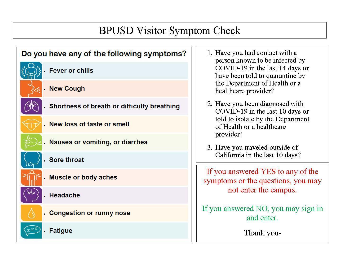 Symptom Check Eng