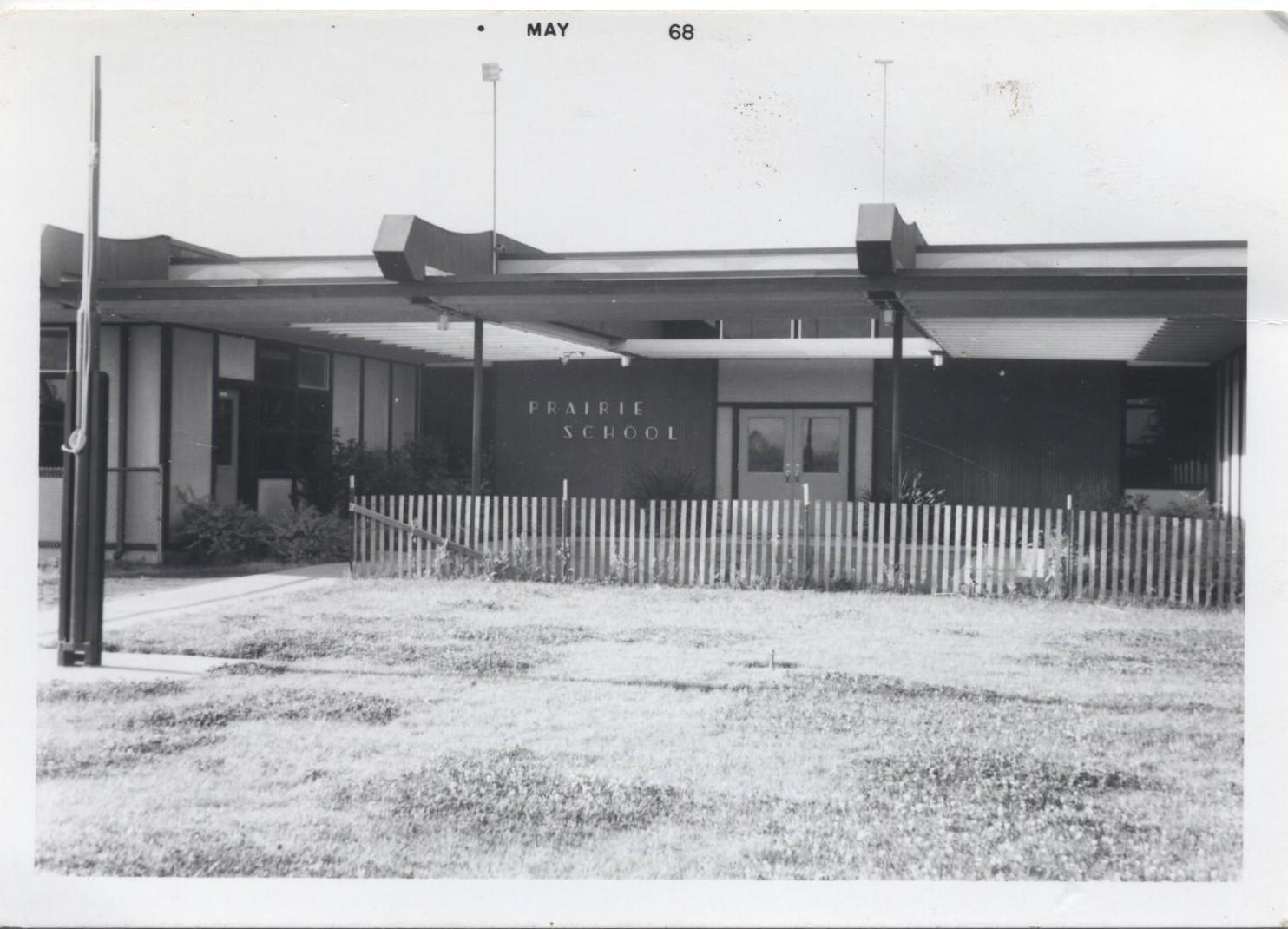 Earliest Picture of Prairie School