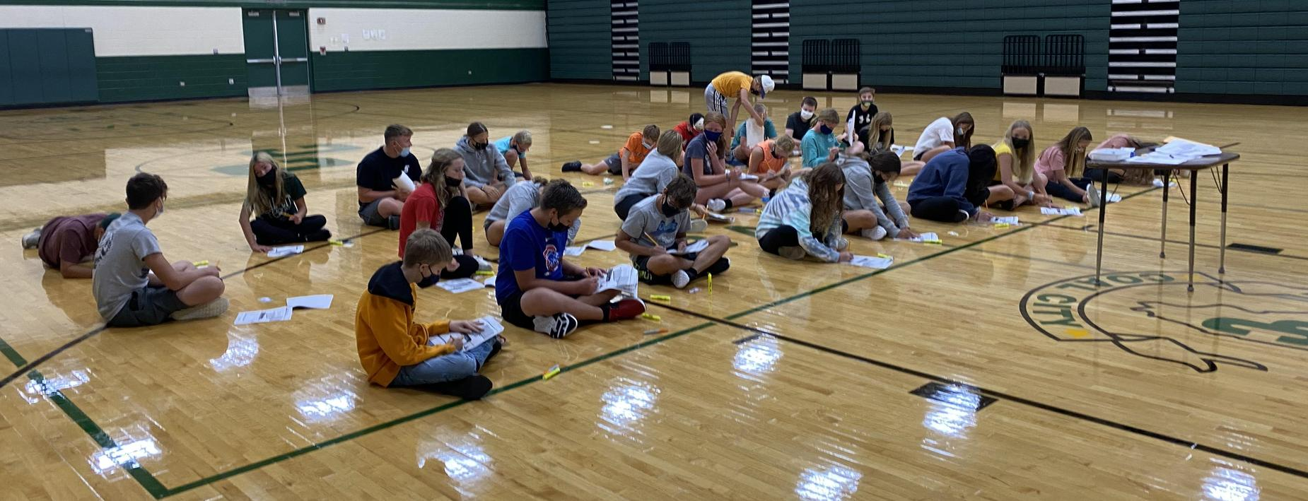 CCMS learning in the gym