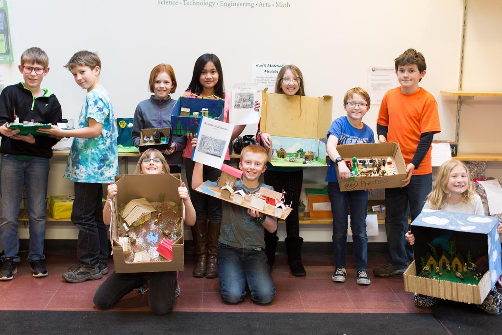 5th grade shadowbox project