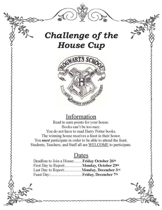 House Cup Flyer