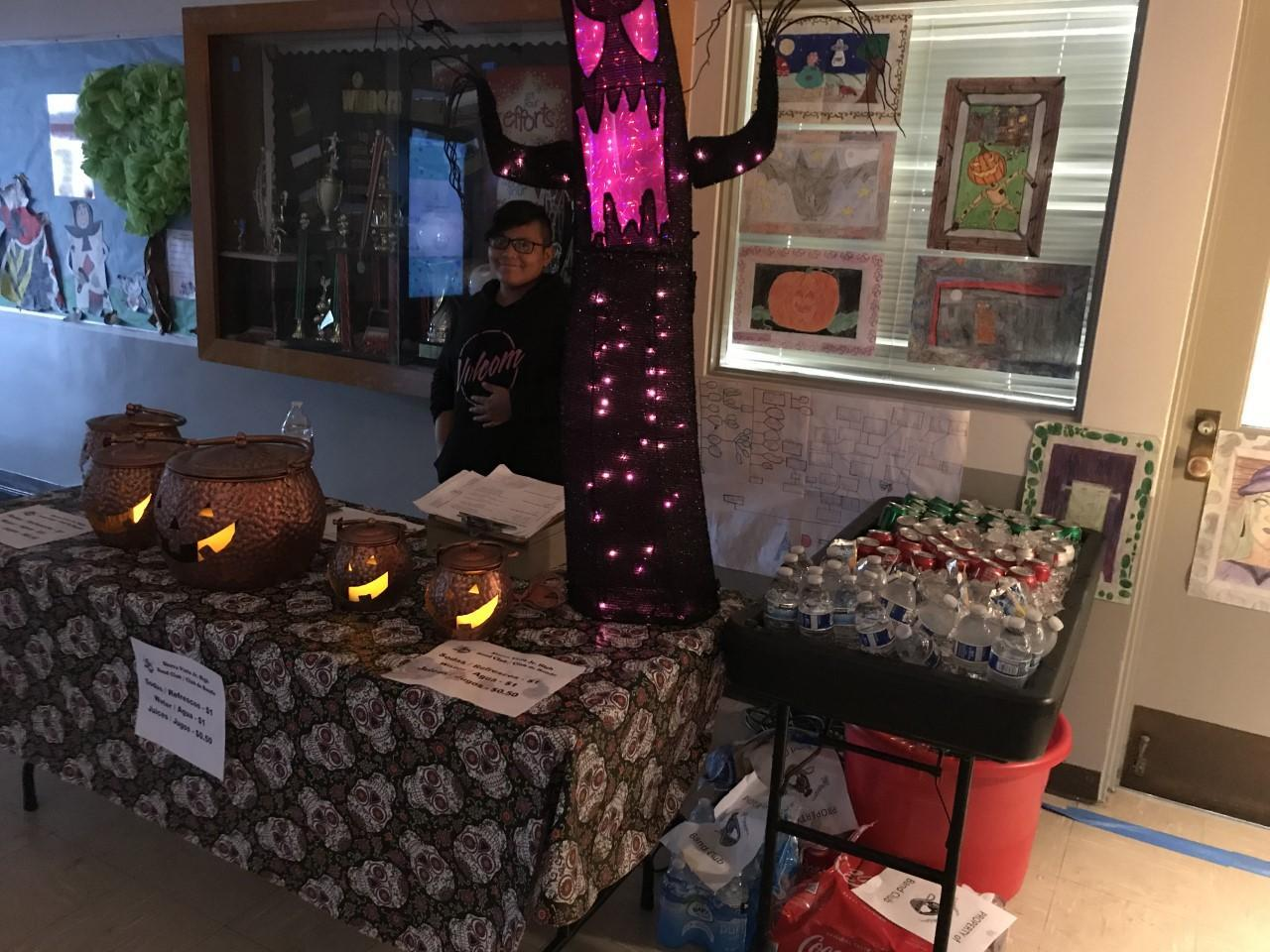 Family Night booth - October 2019