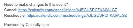 calendar cancel